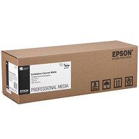 Epson S045256 40' x 17 inch Matte White 23 Mil Exhibition Canvas