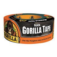 Gorilla Glue 60122 1 7/8 inch x 12 Yards Black Gorilla Tape Roll