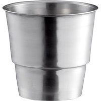 Mercer Culinary M35950 Stainless Steel Malt Cup Collar for 3 5/16 inch Cups - 4 5/16 inch Top Diameter