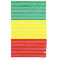 Carson Dellosa CD5642 Adjustable Tri-Section Pocket Chart with Color Cards