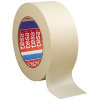 tesa 501240000100 2 inch x 60 Yards Natural General Purpose Masking Tape   - 24/Case