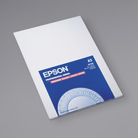 Epson S041288 11 3/4 inch x 16 1/2 inch High-Gloss White Pack of 10.4 Mil Premium Photo Paper - 20 Sheets