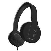 Maxell 290103 Black Solids Headphones with Microphone
