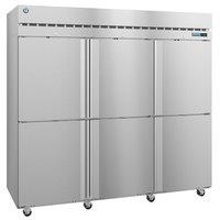 Hoshizaki R3A-HS 82 1/2 inch Half Solid Door Reach-In Refrigerator
