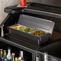 Tablecraft 104 3-Compartment Condiment Bar