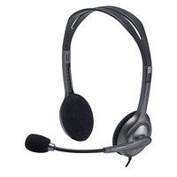 Logitech 981000612 H111 Black / Silver Binaural Stereo Headset
