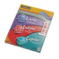 Apollo UF1000E Color Laser / Inkjet Transparency Film - 50/Box