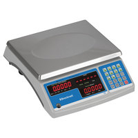 Brecknell B140 60 lb. Gray Coin and Parts Counting Scale with 11 1/2 inch x 8 3/4 inch Platform