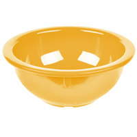 Carlisle 4386022 Honey Yellow Dayton 14 oz. Rimmed Bowl - 24/Case