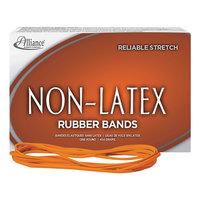 Alliance 37176 7 inch x 1/8 inch Orange Non-Latex #117B Rubber Bands, 12 lb. - 250/Box