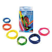 Alliance 07706 Brites 2 1/2 inch, 3 inch, and 3 1/2 inch Assorted #54 Rubber Bands - 24/Box