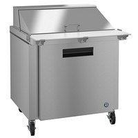 Hoshizaki SR36A-15M 36 inch 1 Door Mega Top Stainless Steel Refrigerated Sandwich Prep Table