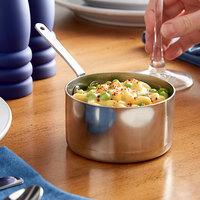 Vollrath 59775 10.4 oz. Round Mini Stainless Steel Sauce Pan