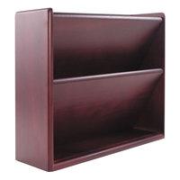 Advantus 09623 Mahogany Hardwood Double Wall File
