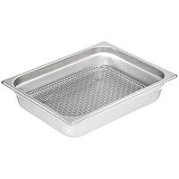 Carlisle 602203 DuraPan 1/2 Size Stainless Steel Steam Table / Hotel Pan Drain Grate
