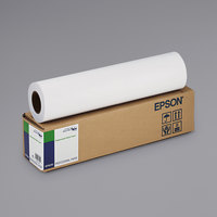 Epson S041746 131' x 17 inch White 5 Mil Single Weight Matte Paper Roll
