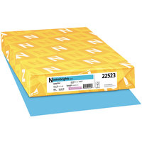 Astrobrights 22523 11 inch x 17 inch Lunar Blue Ream of 24# Color Paper - 500 Sheets