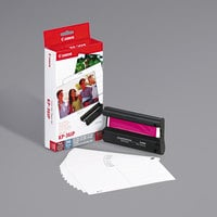 Canon 7737A001 Tri-Color Inkjet Printer Ink Cartridge and Paper Combo Pack