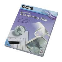 Apollo CG7060 Black / White Laser Transparency Film - 50/Box