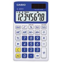 Casio SL300VCBE 8-Digit LCD Blue Handheld Calculator