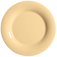 GET WP-6-SQ Squash Diamond Harvest 6 1/2 inch Wide Rim Plate - 48/Case