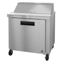 Hoshizaki SR36A-10 36 inch 1 Door Stainless Steel Refrigerated Sandwich Prep Table