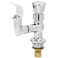 T&S B-2360-01 Bubbler with Push Button Handle and Rubber Mouth Guard