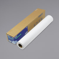Epson S041385 82' x 24 inch White 8 Mil Double Weight Matte Paper Roll