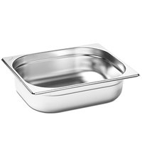 Merrychef 32Z4028 Stainless Steel Half Size Steam Table Pan for eikon e3, e4, e5, and e6 Series Ovens