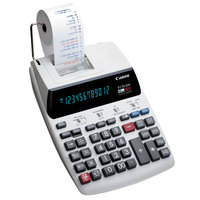 Canon 2204C001 P170-DH-3 12-Digit Black / Red Two-Color Printing Calculator - 2.3 Lines per Second