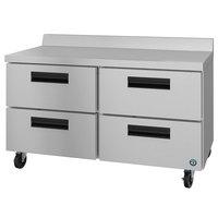 Hoshizaki WR48A-D4 48 inch Four Drawer Worktop Refrigerator