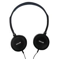 Maxell 190318 HP-200 Silver Stereo Headphones