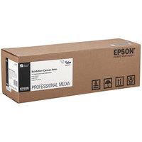 Epson S045249 40' x 17 inch Satin White 22 Mil Exhibition Canvas