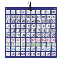 Carson Dellosa 158157 Hundreds Pocket Chart with Colored Cards