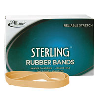 Alliance 25055 Sterling 5 inch x 5/8 inch Crepe #105 Rubber Bands, 48 lb. - 70/Box