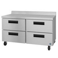 Hoshizaki WR60A-D4 60 inch Four Drawer Worktop Refrigerator