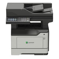 Lexmark 36S0840 MX522ADHE Multifunction Monochrome Laser Printer with Touchscreen, Fax, and Hard Drive