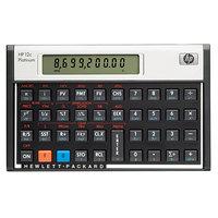 Hewlett-Packard HEWF2231AA 12C 10-Digit LCD Platinum Financial Calculator