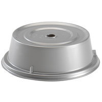 Cambro 1000CW486 Camwear 10 3/16 inch Silver Metallic Camcover Plate Cover - 12/Case