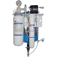 3M Water Filtration Products SGLP200-CL-BP ScaleGard Reverse Osmosis System with Cleaning Bypass - 200 GPD