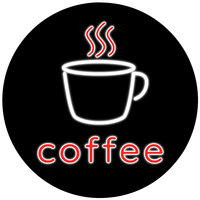 19 inch Round Coffee Nano LED Sign