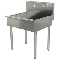 Advance Tabco 4-OP-18 Economy Service Sink Leg Mounted - 24 inch