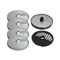 Berkel MPLATE-6PACK Accessory Package with Slicing, Shredding, Dicing and Julienne Plates