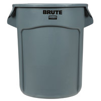 Rubbermaid FG262000GRAY BRUTE 20 Gallon Gray Trash Can