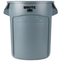 Rubbermaid FG262000GRAY BRUTE 20 Gallon Gray Trash Can