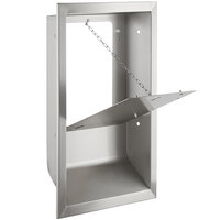 Lavex Janitorial Stainless Steel Recess Kit for Compact Hand Dryers