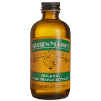 Nielsen-Massey 4 oz. Pure Organic Orange Extract