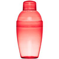 Fineline Quenchers 4101-RD 7 oz. Red Plastic Shaker - 24/Case