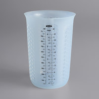 OXO 11166400 Good Grips 1 Quart (4 Cups) Squeeze & Pour Translucent Silicone Measuring Cup