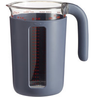 OXO 11213700 Good Grips 1 Quart (4 Cups) Multi-Unit Gray Measuring Cup